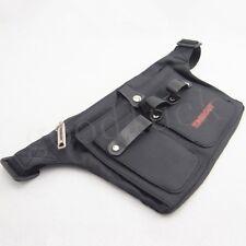 Professional Hairdressing Scissors Tools Holder Waist Belt Pouch Bag - Black