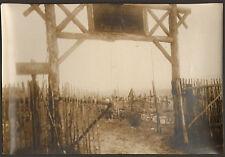 55 DANNEVOUX PHOTO CIMETIERE MILITAIRE SOLDATENFRIEDHOF GUERRE KRIEG WAR 14/18