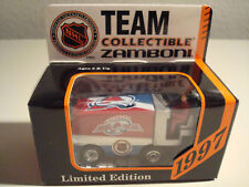 1997 Colorado Avalanche Collectible Zamboni Matchbox