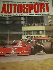 FORMULA 2 SURVEY 1973 JEAN PIERRE JARIER MARCH BMW PATRICK DEPAILLER COOMBS ELF