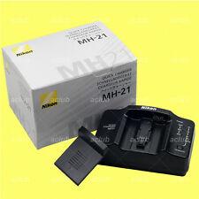 Genuine Nikon MH-21 Quick Charger EN-EL4 EN-EL4a battery D3X D3s D2X D2H D2Hs F6