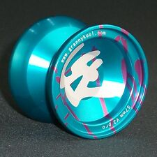YOYO GK V2 PRO Metal 57mm Blue Splash Aluminium includes 3 strings
