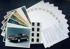 CADILLAC - Car Press Pack -1990- inc: Alante Brougham Seville Eldorado Fleetwood
