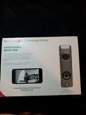 Honeywell SkyBell Slim Wi-Fi Video Doorbell Silver Finish