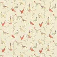 JOHN LEWIS Treescape Cotton Furnishing Fabric-144cm Wide- £20 per M -Free P&P