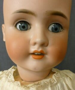 "28"" S.P.B.H  GERMAN ORIGINAL ANTIQUE DOLL ,  BISQUE DOLL 1900s,  70cm OLD DOLL"