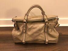 Miu Miu Vitello Lux Medium Bow Bag