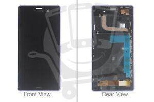 Genuine Sony Xperia Z3 D6603, D6643, D6653 Purple LCD Screen & Digitizer - 1294-