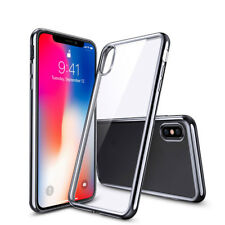 iPhone X Flexible & Shock-Resistant Gel Case (Crystal Clear)