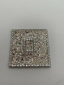 Glitter light switch cover. Bling!! More Colours No glue.single,double,triple