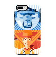 Disney Authentic OTTERBOX✿ Toy Story Buzz Lightyear Woody iPhone Case 8 Plus 7+