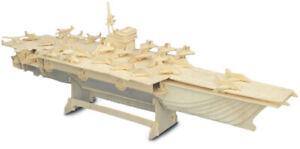 Aircraft Carrier     QUAY Woodcraft Construction Kit FSC