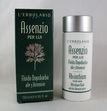 L'erbolario Aftershave Liquid Absinthe for Him 4.1oz Feeds Skin after Shaving