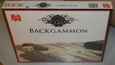 Backgammon Holz Jumbo 12202 Brettspiel Neu / Ovp