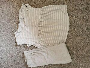 Women Nursing Maternity Pyjama Set size 12