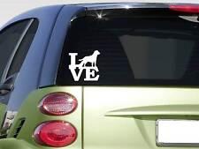 "Labrador Retriever love 6"" STICKER *F243* DECAL leash collar bone dog breed"