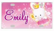HELLO KITTY #3 MINI LICENSE PLATE Personalized Bikes Wagons Door Sign Kids