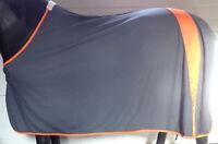 IQ Cool Comfort Fliegendecke engmaschig grau/orange, 145 cm,  Tiefe 110 cm