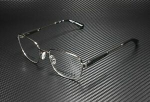 Kenneth Cole KC0299 008 Shiny Gunmetal Clear Lens Titanium 52mm Men's Eyeglasses