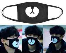 Unisex Men Women Cycling Anti-Dust Mouth Face Mask Respirator Black Protector EY