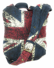 Robin Ruth Distressed Union Jack Small Sling Bag