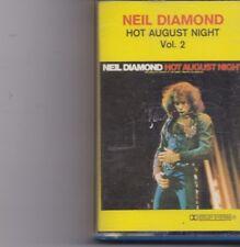 Neil Diamond-Hot Aiugust Night Vol 2 music Cassette