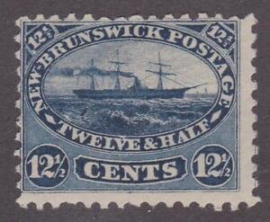 Canada 1860 New Brunswick #10 Steamship MH VG