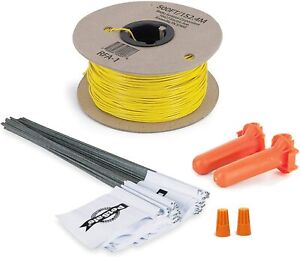 PetSafe Fence Wire and Flag Kit, Includes 50 Boundary Flags and 500 feet of Wire