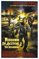 Missing In Action 2 Poster 01 Metal Sign A4 12x8 Aluminium
