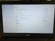 ACER ASPIRE ONE A01-431-C8G8 Laptop N3050 1.60GHZ | 32GB | 2GB RAM | Windows 10
