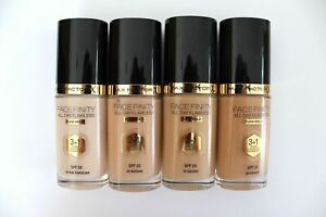 NEW! Max Factor FaceFinity All Day Flawless Flexi-Hold Foundation 3-In-1 - 30ml