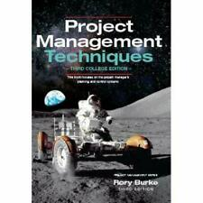 Project Management Techniques 3ed - Paperback / softback NEW Burke, Rory 31/03/2