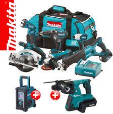 Makita LXT 18V Akku Werkzeug SET +BMR100 +BHR261 36V Kombihammer +BVC02 Adapter