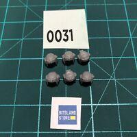 Cascos Astra Militarum x6 Bits Warhammer - R0031