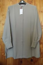 Canvas at Littlewoods Size 22 Tunic Length Button Through Top Stone