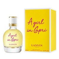 2019 LANVIN A Girl In Capri  eau de toilette edt 90 ml 3 oz new in box sealed
