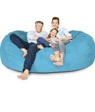 BIG FRANK Living room Home decor Furniture LIGHT BLUE 7 ft Bean bag :COVER ONLY