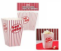 Popcorn Boxes Holder Movie Pack Hollywood Birthday Party Home Cinema Holder Bags