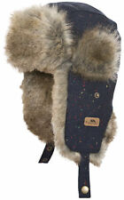 0334f893e2f Trespass Boys   Girls Zazu Polyester Faux Fur Adjustable Trapper Hat