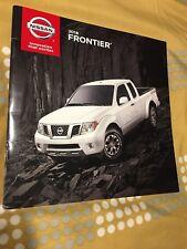 2018 NISSAN FRONTIER 20-page Original Sales Brochure