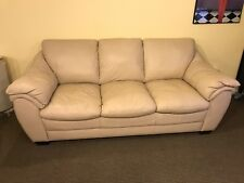 Leather couch for sale, rarely used, in great condition.