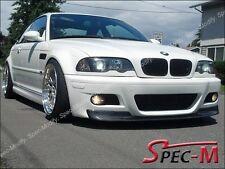 01-06 BMW E46 3-Series M3 Only 2Dr CSL Style Carbon Fiber Front Bumper Lip