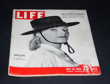 LIFE MAGAZINE JULY 10 1950 MIROSLAVA IN THE BRAVE BULLS