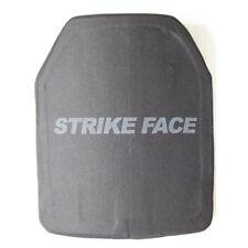 10X12 Inches Hard Armor Plate Armored UHMWPE Level III STA Single Curve Shape E