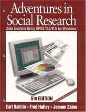 Adventures in Social Research: Data Analysis Using SPSS 11.011.5 for Windows (Un
