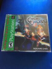 Chrono Cross (Playstation 1 / PS1) Greatest Hits - NEW SEALED