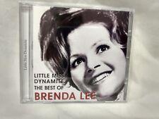 Rare The Best Of Brenda Lee Little Miss Dynamite 2005 HHO Ltd             cd5938