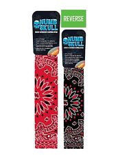 Red Black Paisley Cooling Neck Wrap Headband Scarf Tie Bandanna Reversible New