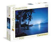 Clementoni 35023. Rising Lune. Puzzle de 500 pièces. 49x36cm