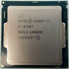 Intel Quad-Core i7-6700T CPU 2.80GHz LGA1151 SR2L3 8MB Cache Processor WORKING